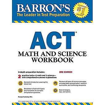 Barron's ACT matematik och vetenskap-arbetsbok, 3rd Edition