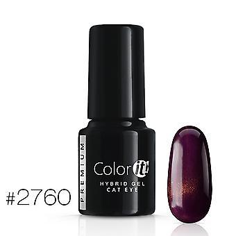 Gellack - Color IT - Premium - Cat Eye - *2760 UV-gel/LED