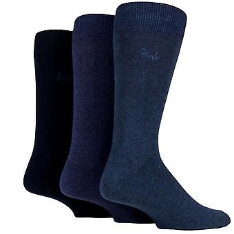 Pringle Endrick Socks 3 Pack Blue
