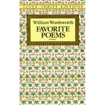 Favorite Poems by William Wordsworth - 9780486270739 Book