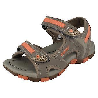 Childrens Hi-Tec Riptape-Strap Sandals Style - GT Strap