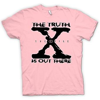 Camiseta para hombre-X archivo verdad existe - UFO
