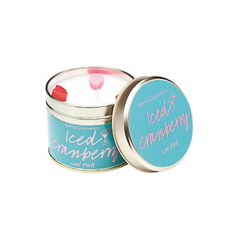 Bomb Cosmetics Tinned Candle - Iced Cranberry