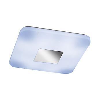 Wofi Orsa - Dimmable LED 1 Light Flush Plafond Lumière Lumière Blanche - 998401066000