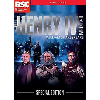 Henry IV Part 1 & 2 - Special Edition [DVD] USA import