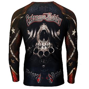 Extreme hobby - moto rebel - rashguard long sleeve