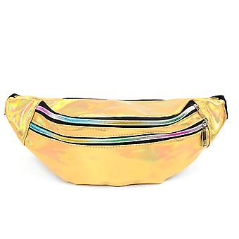 Gold Holographic Waist Bag