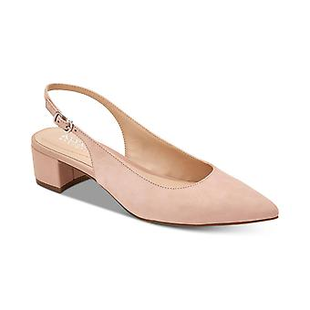 Alfani Womens charrleel Fabric Pointed Toe Ankle Strap Classic Pumps