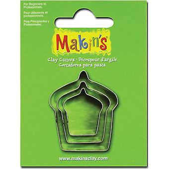 Makin's Clay Cutters 3 Pkg Cake M360 27