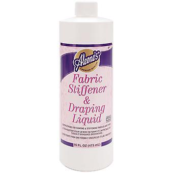 Aleene's Fabric Stiffener & Draping Liquid 16 Ounce 05 Jan