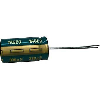 Electrolytic capacitor Radial lead 5 mm 1500 µF 3