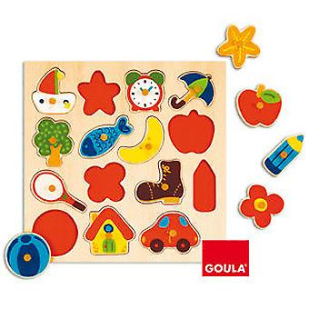 Goula Silhouette Puzzle (Toys , Preschool , Puzzles And Blocs)