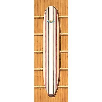Surf Board me impresión de póster por Evelyn Jenkins Drew