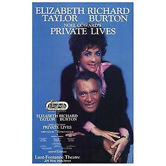 Private Lives (Broadway Play) Movie Poster (11 x 17)