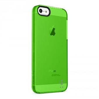 Belkin shield sheer funda para iPhone 5 5S - verde