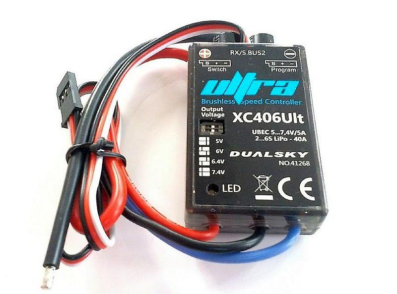DualSky 40 A ULTRA ESC with plugs