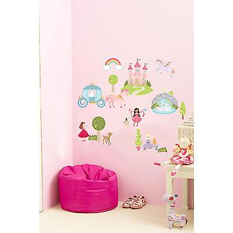 Suncrest FunToSee fe prinsesse 25 Wall Stickers