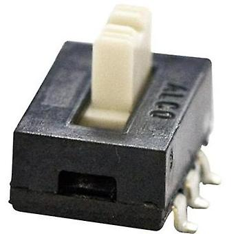 TE Connectivity 1825010-1 Slide Switch 1825010-1 2 x on/(on) 300 mA
