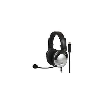 KOSS Headset SB45 USB On-Ear Silver/Svart