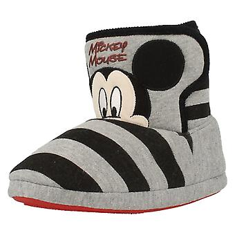 Childrens Disney Slippers Mickey Mouse