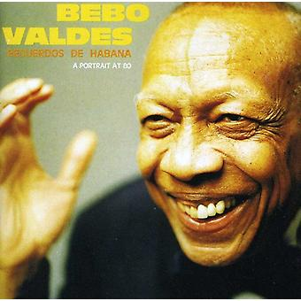 Bebo Valdes - Recuerdos De Habana [CD] USA import