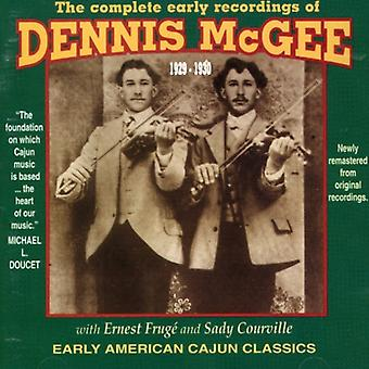 Dennis McGee - Dennis McGee: Complete Early Years 1929-30 [CD] USA import