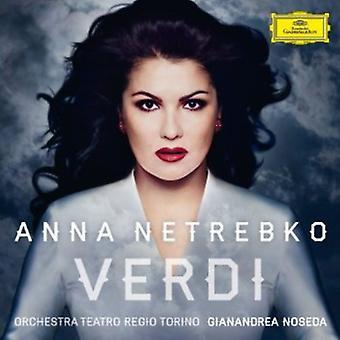 Anna Netrebko - Verdi [Deluxe Edition + Bonus Dvd] [CD] USA import