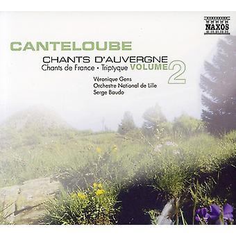 J. Canteloube - Cantoloube: Canti Auvergne, importazione USA Vol. 2 [CD]