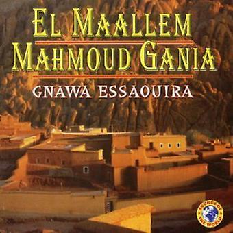 El Maallem Mahmoud Gania - Gnawessaouira [CD] USA import