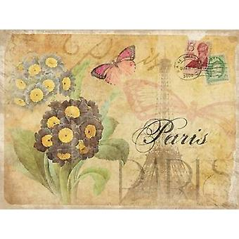 Paris Postcard 5 Poster Print by Jace Grey
