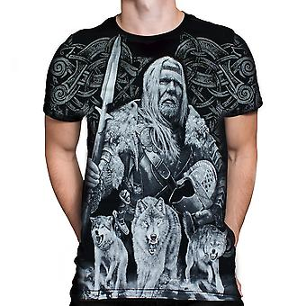 Wild Star Hearts - VIKING RAGNAROK - Mens T-Shirt