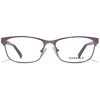 Carvela Upswept Square Glasses In Purple