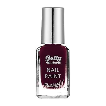 Barry M Barry M Gelly skinne Hei spikeren maling Black Cherry