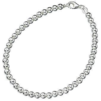 Perłowa bransoleta srebrna 925