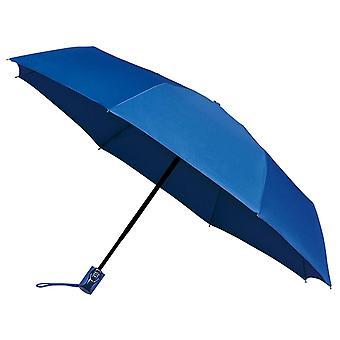 AMOS Auto åbne & lukke falsning paraply - blå