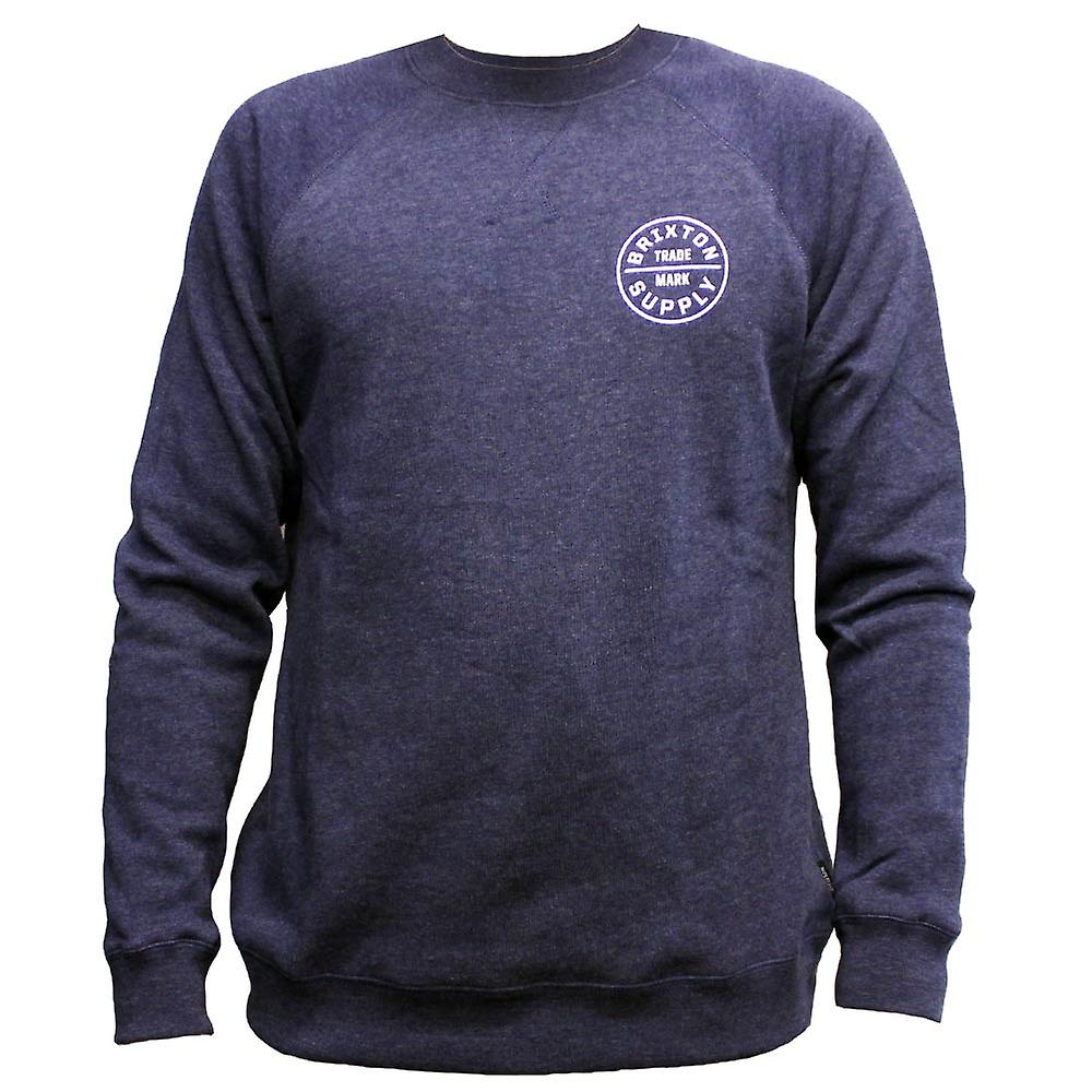 Brixton Oath Sweatshirt Washed Navy