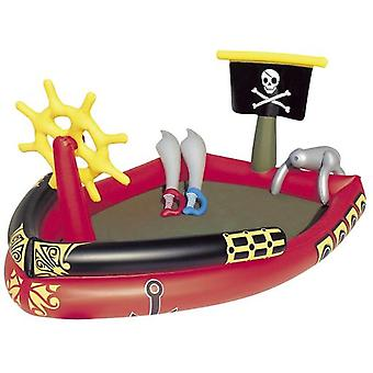 Bestway Center Inflatable Pirate Ship Games