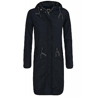 Lee rain jacket jacket ladies rain jacket black with DrawString