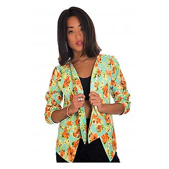 The Fashion Bible Dream Flower Floral Waterfall Jacket