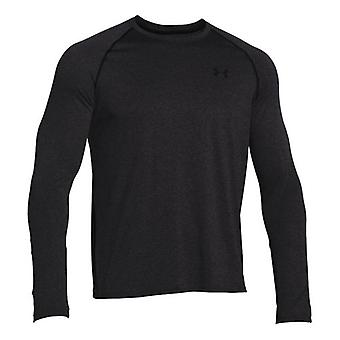 Under Armour men's tech long sleeve Carbon Heather 1264088-090