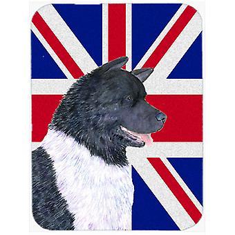 Акита с Коврик для мыши британский флаг Английский Юнион Джек, горячие Pad или подставка