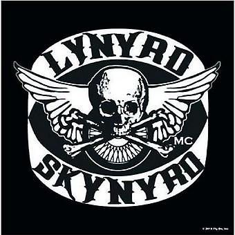 Lynyrd Skynyrd Coaster Biker Patch logo Official 9.5cm x 9.5cm single drink