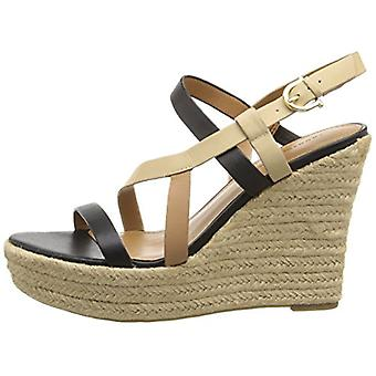 Tommy Hilfiger Womens Abri Leather Open Toe Casual