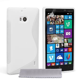 Caseflex Nokia Lumia 930 silikonowy żel S-Line Case - biały