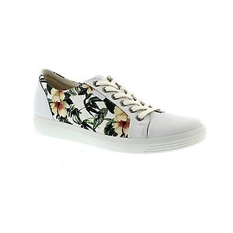Ecco 430003 Soft 7 - 51032 White/Flower Print (Floral) Womens Trainers
