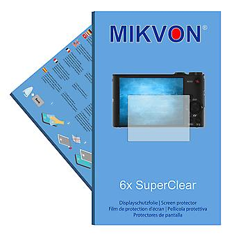 Sony DSC-WX350 screen protector- Mikvon films SuperClear