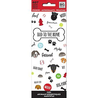 Me & My Big Ideas Stickers-Bad To The Bone PPSM-08