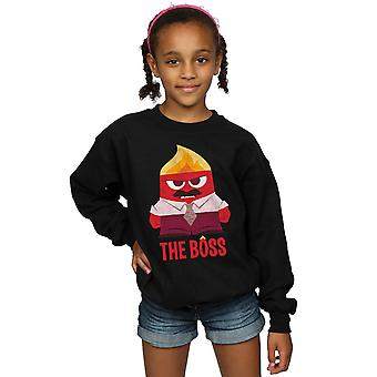 Disney Girls Inside Out Anger The Boss Sweatshirt