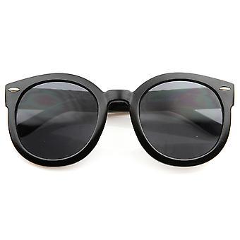 Designer Inspired Mod Fashion Oversized P3 Shaped Round Circle Sunglasses