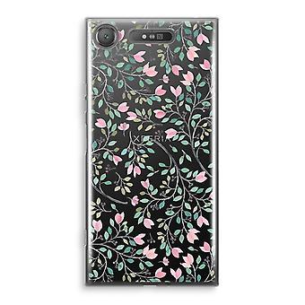 Sony Xperia XZ1 Transparant Case (Soft) - Dainty flowers